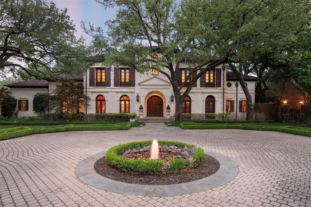Dallas Neighborhood Home For Sale - $8,200,000